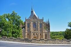Church of Saint Barbara, Kutna Hora Czech Republic Stock Photo