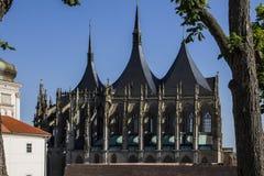 Church of Saint Barbara Stock Photography