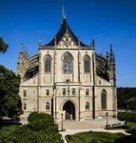 Church of Saint Barbara Stock Images