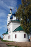 Church of Saint Barbara in Ples, Russia. Royalty Free Stock Photos