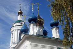 Church of Saint Barbara in Ples, Russia. Stock Photos