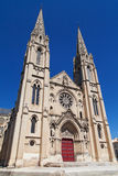 Church Saint Baudille in Nimes Royalty Free Stock Images