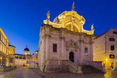 Church of Saint Blaise. Dubrovnik. Croatia. Royalty Free Stock Photography