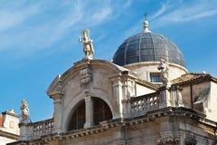 Church of Saint Blasius in Dubrovnik Royalty Free Stock Image