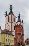 Church Saint Blasius in Fulda, Germany Royalty Free Stock Photos