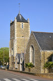 Church of Saint Brevin les Pins in France Stock Images