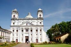 Church of Saint Cajetao in Old Goa,India stock images