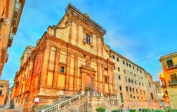 The Church of Saint Catherine in Palermo, Italy Stock Photos