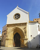 Church of Saint Catherine in Seville, Andalusia, Spain Stock Image
