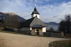Church of Saint Catherine, Slovenia Stock Photography
