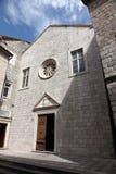 Church of the Saint Clare in Kotor, Montenegro. Catholic Church of the Saint Clare, on June 10, 2012 in Kotor, Montenegro Stock Photo