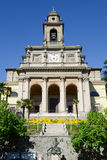 Church of Saint Cosma and Damiano at Mendrisio on Switzerland Stock Photos