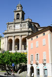 Church of Saint Cosma and Damiano at Mendrisio on Switzerland Royalty Free Stock Photography