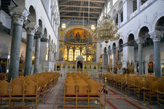 The Church of Saint Demetrius or Hagios Demetrios, Thessaloniki Stock Photography