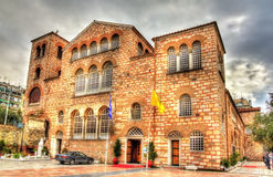 Church of Saint Demetrius in Thessaloniki Stock Photos