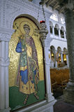 The Church of Saint Demetrius Thessaloniki - mosaic detail Royalty Free Stock Images
