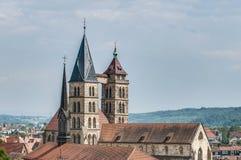 Church of Saint Dionysius  in Esslingen am Neckar, Germany Stock Photo