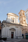 Church of Saint Domenico in Chieti Stock Images