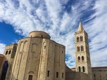 Church of Saint Donat in Zadar, Croatia. Stock Image
