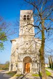 Church of saint Elija, Kopriva, Slovenia. Stock Image