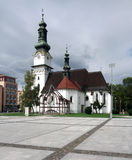 Church of Saint Elizabeth in Zvolen, Slovakia Royalty Free Stock Image