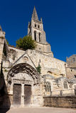 Church of Saint Emilion Royalty Free Stock Photo