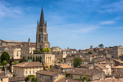 Church of Saint-Emilion, Gironde, Aquitaine, France Royalty Free Stock Photo