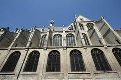 Church saint etienne du mont in Paris Royalty Free Stock Images
