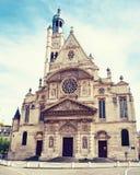 Church Saint Etienne du Mont in Paris Royalty Free Stock Photography