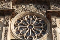 Church of Saint-Etienne-du-Mont in Paris Stock Photos