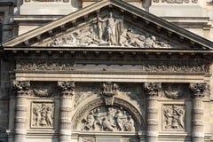 Church of Saint-Etienne-du-Mont in Paris Royalty Free Stock Image