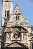 Church of Saint-Etienne-du-Mont in Paris Stock Photo