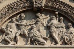 Church of Saint-Etienne-du-Mont in Paris Royalty Free Stock Photo