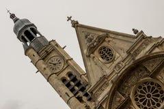 Church of Saint-Etienne-du-Mont  in Paris near Pantheon.  France Royalty Free Stock Images