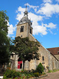 Church of Saint-Etienne. In the little city of Chateau-Renard near Montargis - France Royalty Free Stock Images