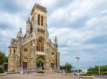 Church Saint Eugenie in Biarritz - France Stock Images
