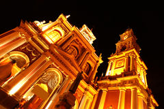 Church of Saint Francis in Salta Royalty Free Stock Photography
