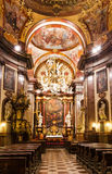 Church of Saint Francis Seraphicus, Prague royalty free stock photo