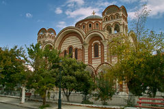 The Church of Saint George Asprovalta Stock Photography