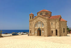 Church of Saint George in Cyprus Stock Image