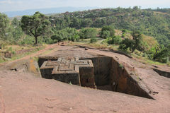 Church of Saint George, Lalibela Stock Image