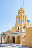 Church of Saint George in Oia Royalty Free Stock Photos
