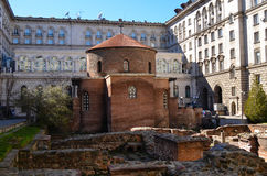 Church of Saint George, Sofia. Church of St. George - Sofia, Built by the Romans in the 4th century AD,in Sofia, Bulgaria. . The Largo, this is an architectural Stock Photos