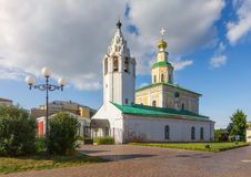 Church of Saint George the Victorious in Vladimir. Russia. Church of Saint George the Victorious. Vladimir. Russia Stock Photos