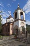 Church of Saint George in village Lesnoye, Adlersky district Krasnodar region Royalty Free Stock Photos