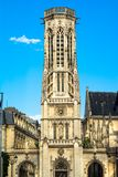 Church of Saint-Germain-l'Aux errois,Paris, France Royalty Free Stock Photo