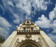 Church of Saint-Germain-l'Auxerrois, Paris Stock Images