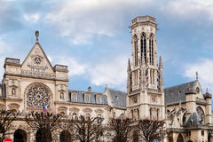 Church of Saint-Germain-l Auxerrois in Paris Royalty Free Stock Image