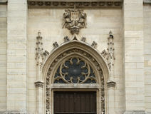 The Church of Saint-Germain-l'Auxerrois, Paris, France Royalty Free Stock Image