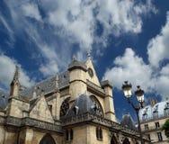 Church of Saint-Germain-l'Auxerrois, Paris, France Stock Image